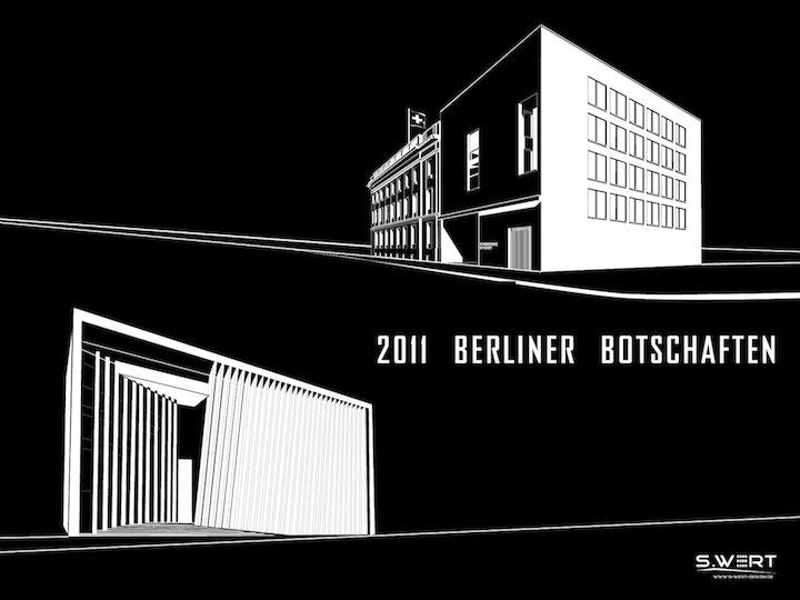 Wandkalender Berliner Botschaften