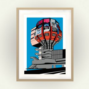 Seventies Poster: Bierpinsel Berlin