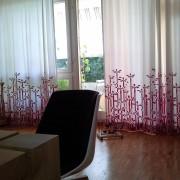 Großstadtpflanzen Vorhang in pink