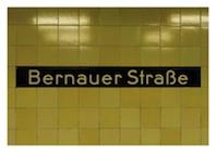 Postkarte Bernauer Straße