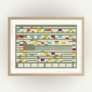 Poster Corbusierhaus
