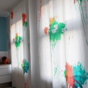 Farbbeutelwurf Paint Bomb Stoff