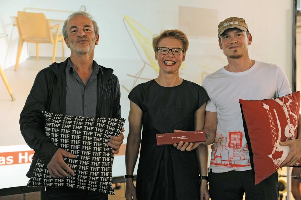 Senatsbaudirektorin Regula Lüscher verleiht Berlin Award 2016