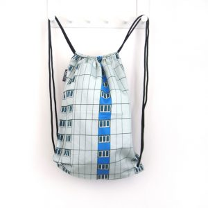 Turnbeutel drawstring bag Architektur Fassade