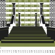 Berlin Architektur Kalender 2017: Brücken