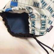 Detail: Fassaden Backpack