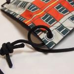 Kordel schwarz Segelknoten