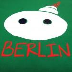 Fernsehturm Berlin Kinder Shirt grün