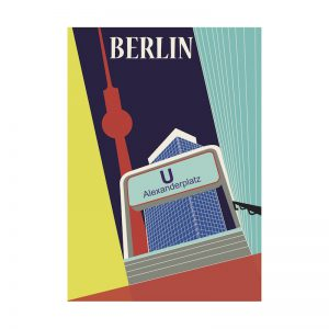 Postkarte-Alexanderplatz