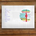 Berliner Büro Geschenk Schreibtischunterlage