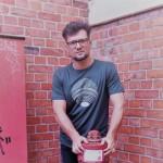 Berlindesign Shirt Streetwear Men Fairtrade grau