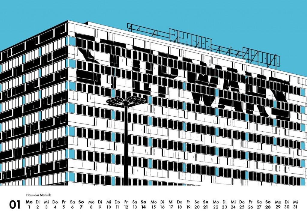 Instagram Kalender 2018 Berlin