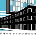 Architektur Kalender Berlin 2018 Minimal