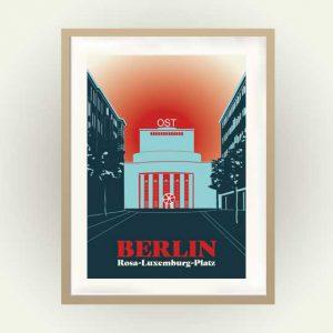 Volksbühne am Rosa Luxemburgplatz Plakat