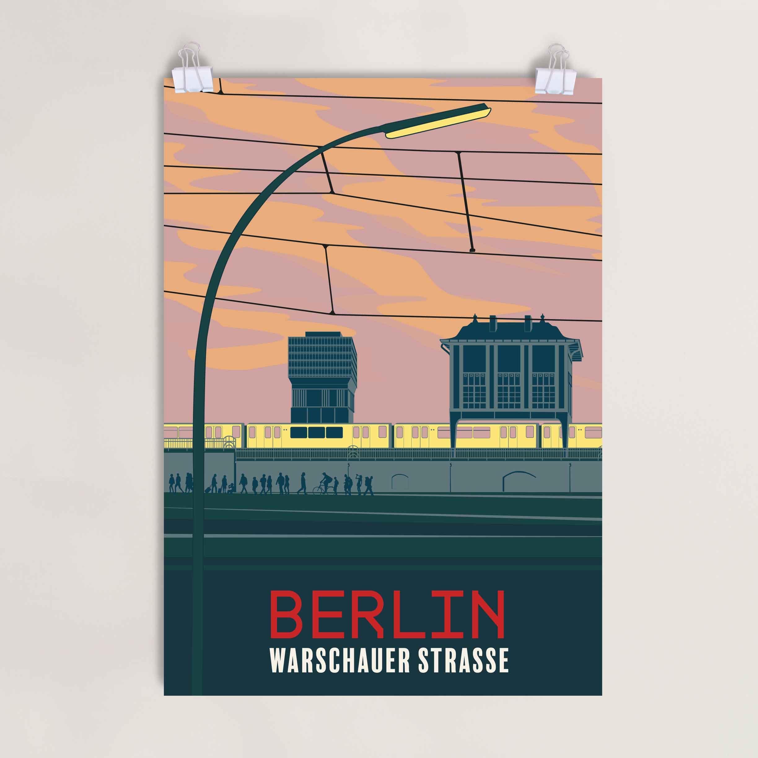 Poster Warschauer Strasse Berlin