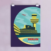 Berlin-Tegel-Poster