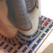 Platten-Coaster-Spiegelung