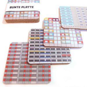 Berlin Souvenir Coaster DDR