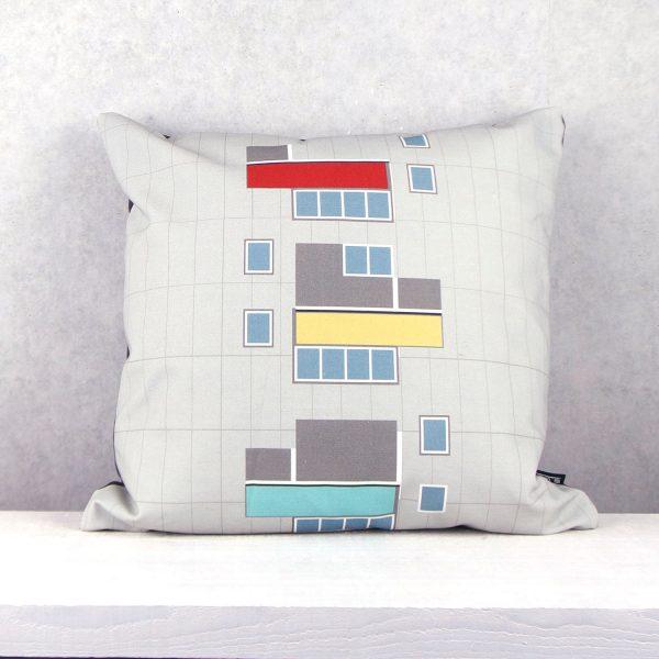 Kissen Hansaviertel Architekten van den Broek / Bakema