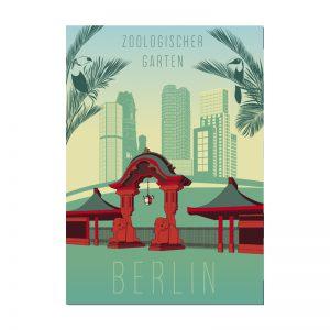 Postkarte Berlin Zoologischer Garten