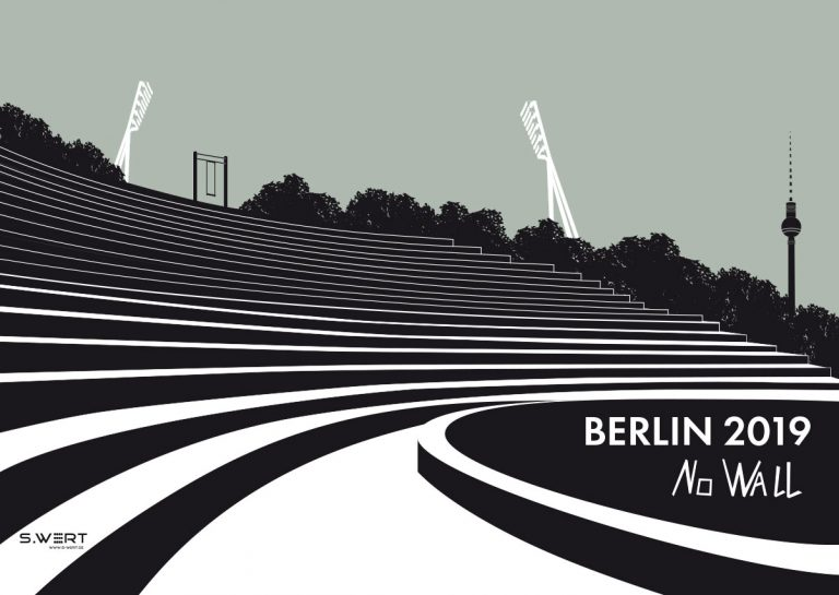 Berlin kalender 2019 Illustartion Grafik Architektur