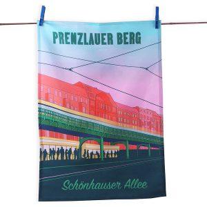Geschirrtuch prenzlauer Berg Schönhauser Allee