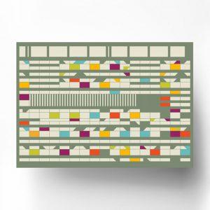Poster Corbusierhaus Berlin