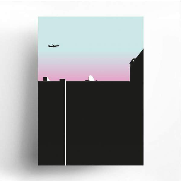Poster Berliner Himmel