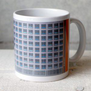 Plattenbau Tasse Rathauspassagen