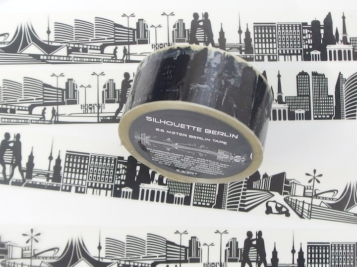 Skyline Tape Silhouette Berlin S Wert Design