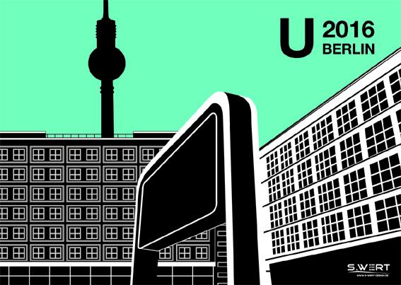 Berlin Wandkalender 2016
