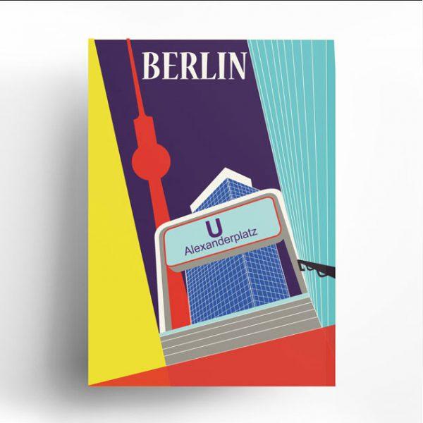Poster Berlin Alex