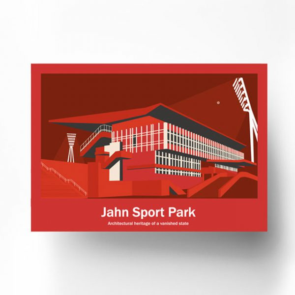 Poster Berlin Jahnsportpark