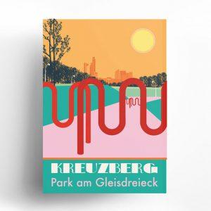 Poster Berlin Kreuzberg