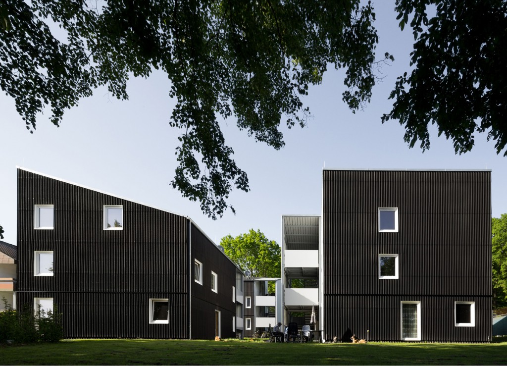 Beitrag 133- Wohnungen für Flüchtlinge Ostfildern © u3ba Arge camilo hernandez, urban 3 + Harald Baumann, baumannarchitects, Stuttgart