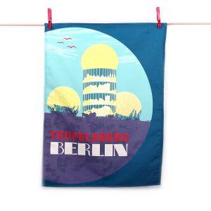 Berlin Küchentuch Teufelsberg