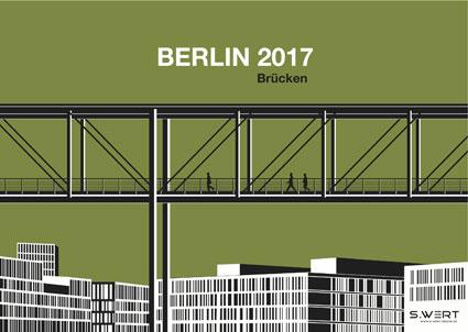 Berlin Wandkalender 2017