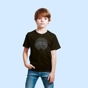 Berlin Kinder Shirt schwarz Fernsehturm