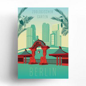 Poster Berlin Zoologischer Garten