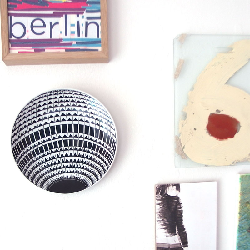 Wandteller Berliner Fernsehturm