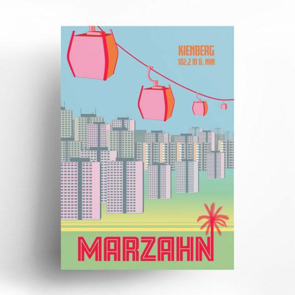 Berlin Poster Marzahn