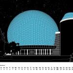 Berlinkalender 2018 Planetarium