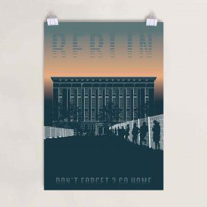 Poster Berlin Nachtclub