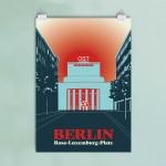 Poster Berlin Volksbühne Ost