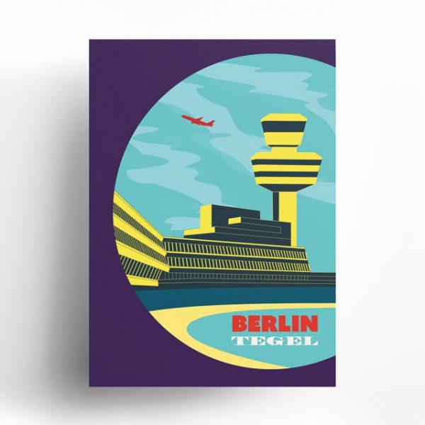 Berlin Poster Tegel