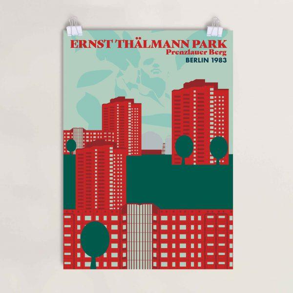 Poster Ernst Thälmannpark