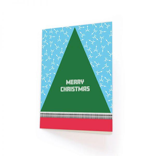 Merry Christmas Berlin Klappkarte