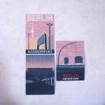 Berlin Techno Poster Sonnenaufgang