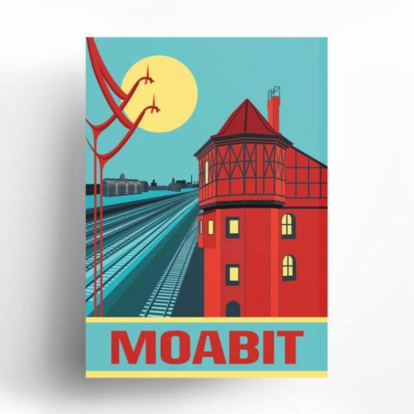 Berlin Poster Moabit