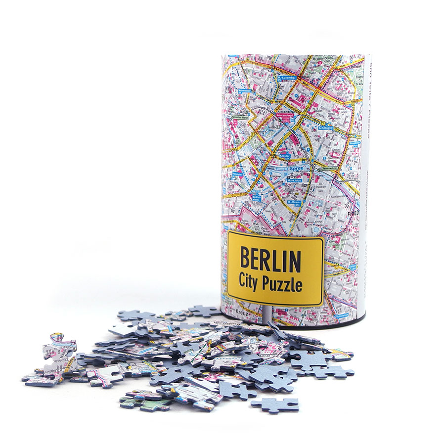 Berlin City Map Puzzle